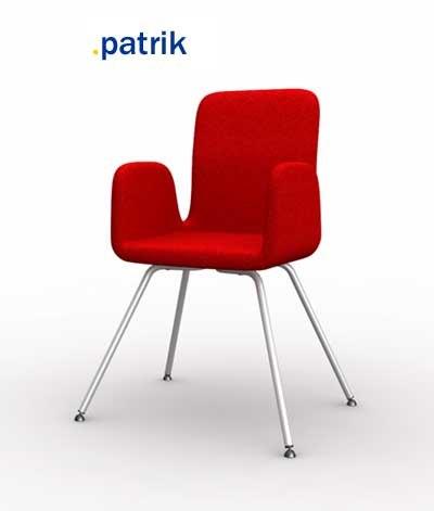 Ikea Chair Patrik D Model