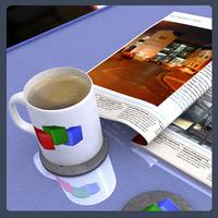 3d model mug cup