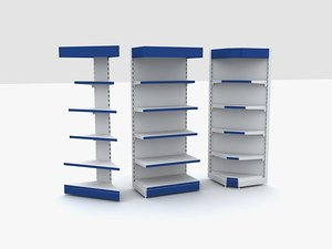3ds max shop rack