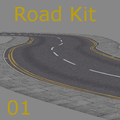road kit 3d model