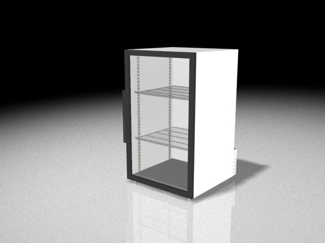 counter cooler 3d model