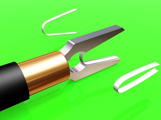 surgical tool laparoscopy 3d model