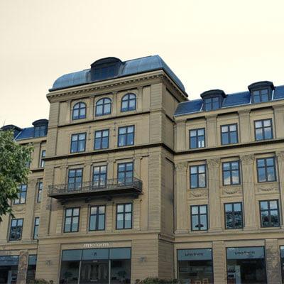 3d model copenhagen building