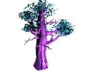 tree pink 3d max