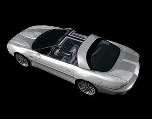 2002 35th anniversary camaro ss 3d model