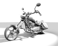 3ds hi harley davidson bike