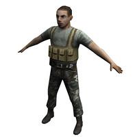 3d guerilla model
