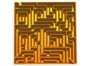 3d model of hi maze