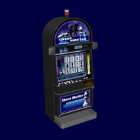 3d model casino slot machine