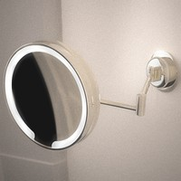 illuminated shaving mirror 3d model