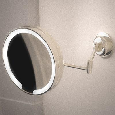 illuminated shaving mirror 3d model