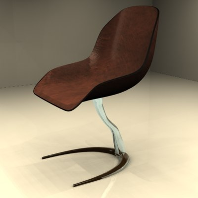 3ds max freeform chair bruir