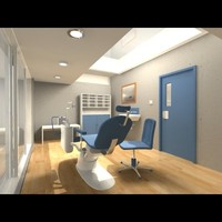 Dentist interior