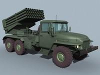 Ural-375/BM-21 Grad