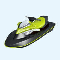 3ds max sea doo