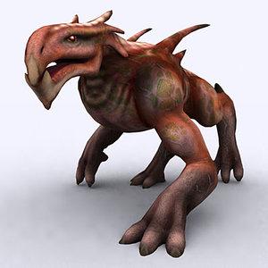 3d fantasy monster model