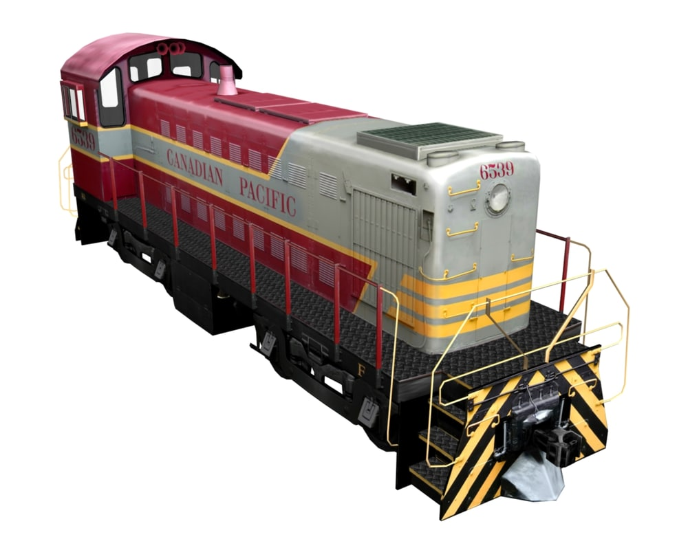 mlw s3 locomotive 3ds