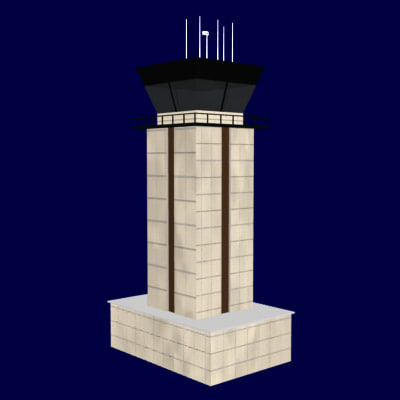 airport control tower lwo
