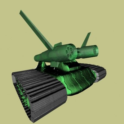 free max mode futuristic tank