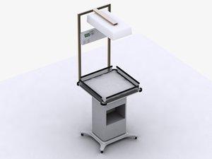 3d model premature hospitals