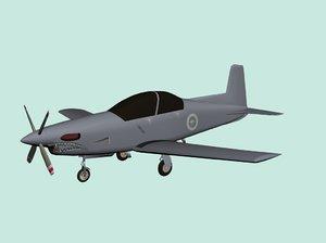 max pilatus pc-9 plane