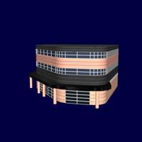 office building 3d model