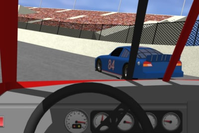 car racing vehicle 3d model
