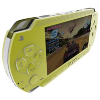 sony psp console 3d model
