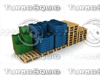stuff warehouse 3d max
