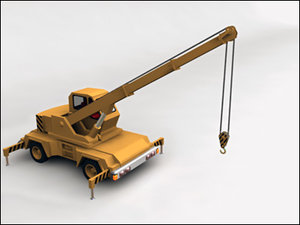 3d crane construction