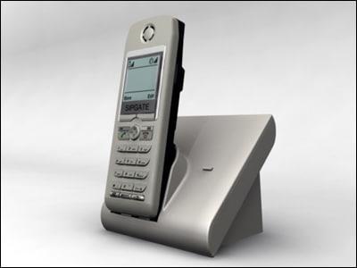 3d sipgate phone