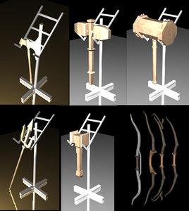 3d model melee weapons