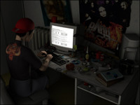 hacker boy 3d model