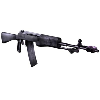 3d model an-94 rifle modern