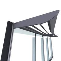 brise soleil glazing 3d model