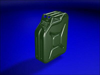 3d model canister liquid