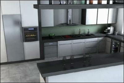room interiors 3d model