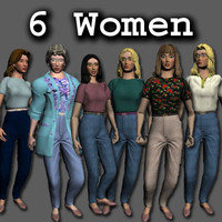6 Women Collection- Young, Old