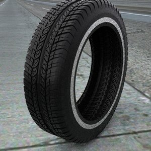 3d tire treads model