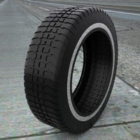 3d tire treads model