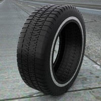3ds max tire treads