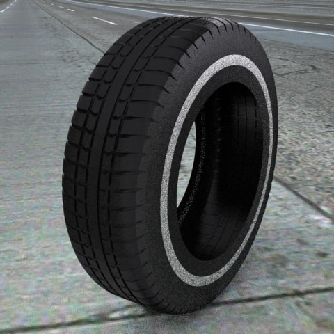 tires treads 3d model