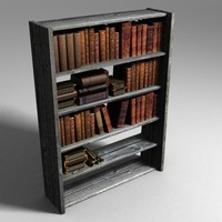 book bookshelf 3ds