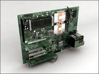 board computer 3d max