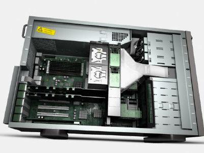 3d massive computers model