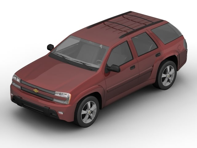 3ds max chevrolet suv car
