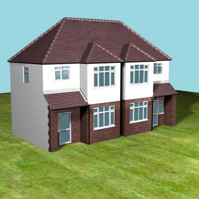semi detached house max