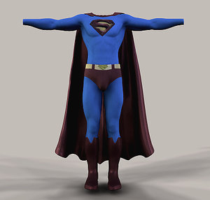 3d superman returns model