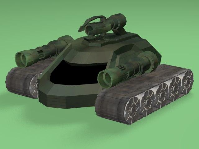 sci-fi tank 3ds free