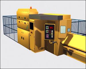 3dsmax laser manufacturing